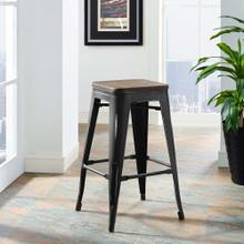Promenade Counter Stool in Black