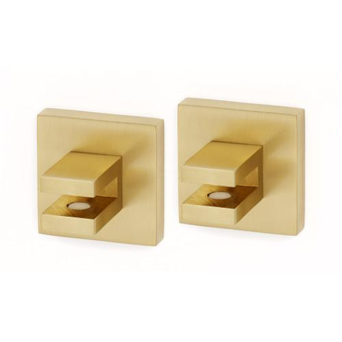 Contemporary II Shelf Brackets A8450 - Satin Brass