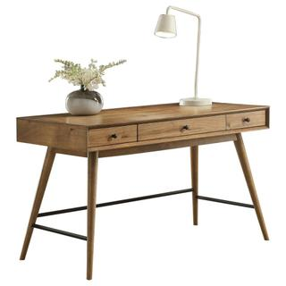 See Details - Writing Desk with Three Functional Drawers