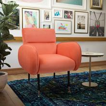 View Product - Babe Coral Velvet Chair