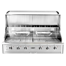 """See Details - Precision Series 52"""" Built-In Grill"""