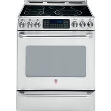 """See Details - 30"""" Slide-In Electric Self Cleaning Convection Range with Baking Drawer"""