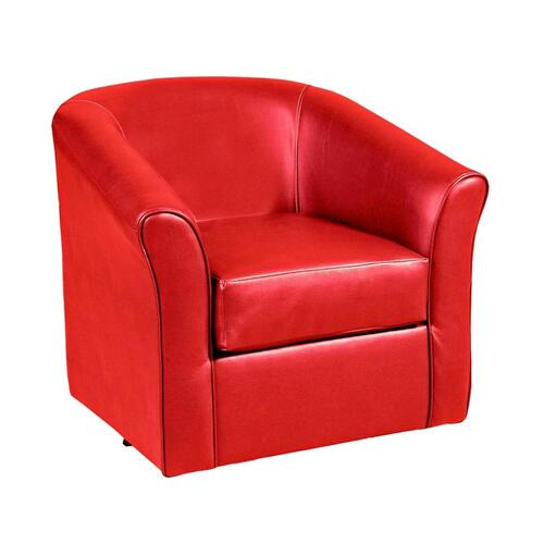 89 Swivel Chair Red