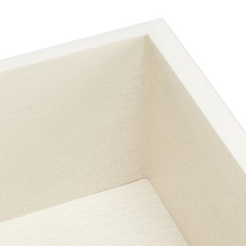 Safavieh - Landers 3 Drawer Console - Distressed White