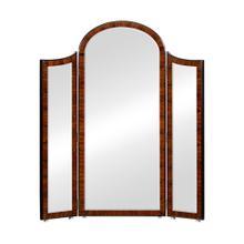 See Details - Art Deco Style Full Length Triple Dressing Mirror (Satin)
