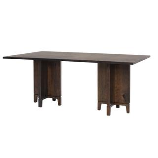 See Details - Soma Double Pedestal Table