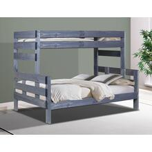 Full/Full Stackable Bunk Bed