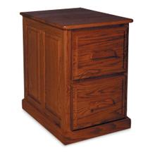 See Details - Classic 2-Drawer File Cabinet, Raised-Panel End