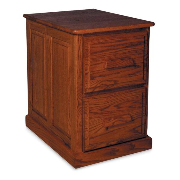See Details - Classic 2-Drawer File Cabinet, Plain End