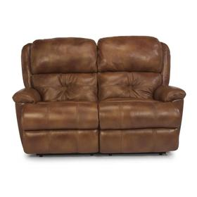 Cruise Control Leather Reclining Loveseat