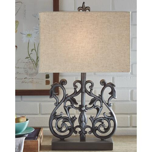 Signature Design By Ashley - Capper Table Lamp