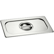 Half Size Stainless Steel Lid GN410130