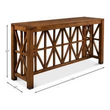 Diamonte Console Table