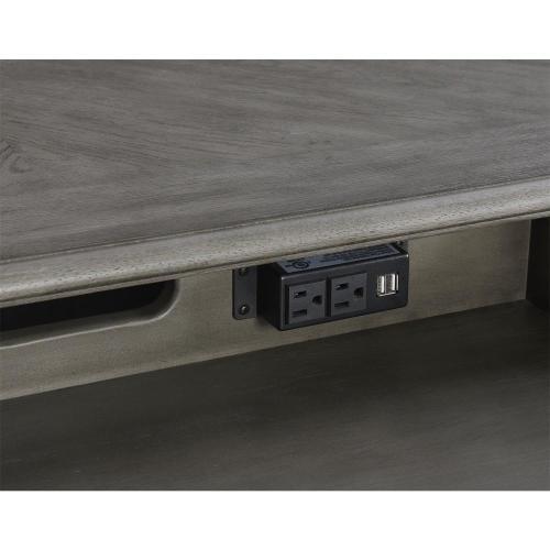 Sloane - Executive Desk - Gray Wash Finish