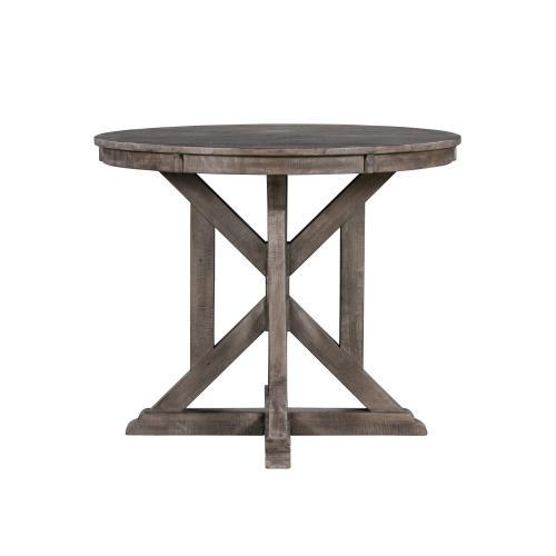 Pembroke Plantation Distressed Wood Accent Table