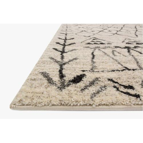 EB-09 Heather Gray / Black Rug