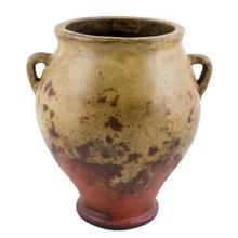 Textured Red Small Vinegar Jar