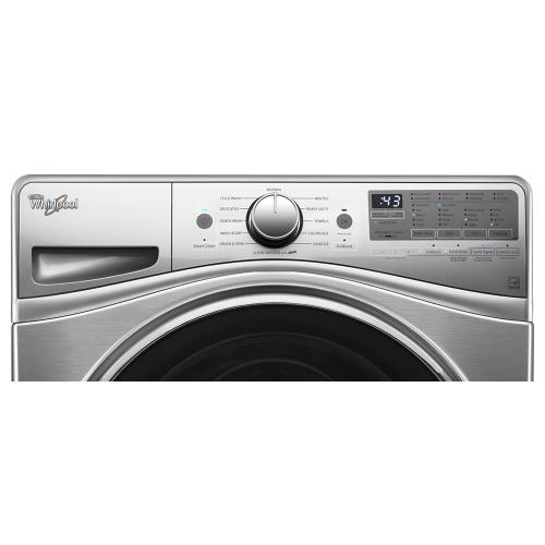 Whirlpool - 4.5 cu.ft Front Load Washer with Load & Go , 12 cycles