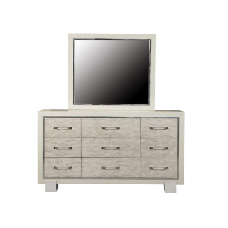 Cydney Contemporary Dresser Mirror