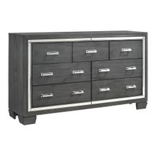Titanium 7-Drawer Dresser