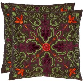 Ariel Pillow - Brown / Multi