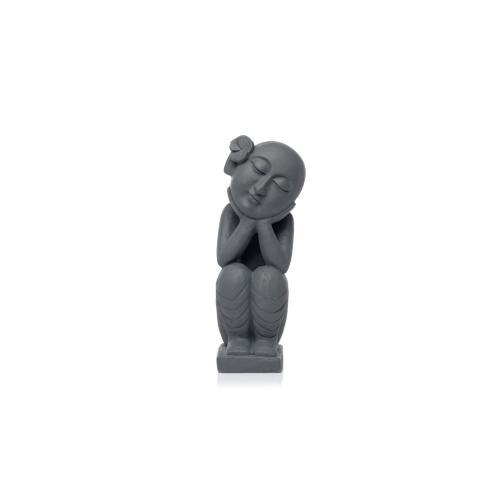 Dreaming Bald Thai Buddha
