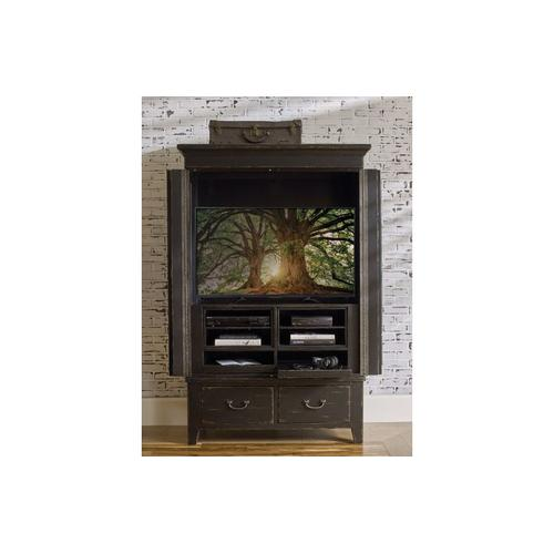 Kincaid Furniture - Simmons Armoire - Complete - Anvil Finish