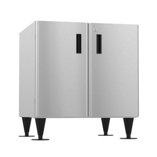 SD-200, Icemaker/Dispenser Stand with Lockable Doors