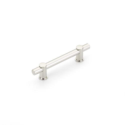 """Fonce, Cabinet Pull, Polished Nickel, 4"""" cc"""
