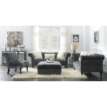 Emerald Home Hutton II Chair Nailhead Charcoal U3164-15-53