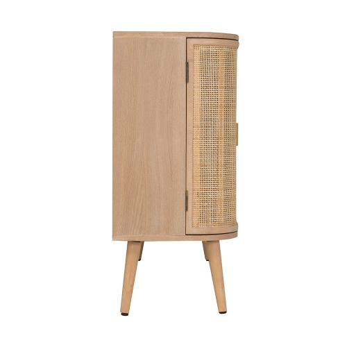 A & B Home - Cabinet,Natural