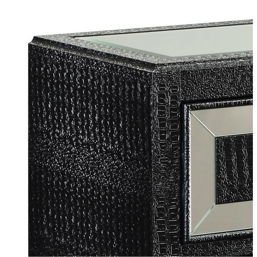 4-drawer Chest, Black