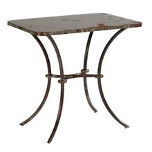 TABLE,METAL SIDE-LULU- STOCK M