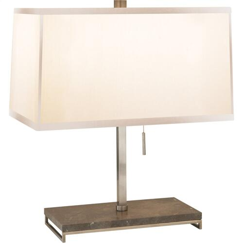 Visual Comfort BBL3030PWT-S Barbara Barry Philosophy 18 inch 60 watt Pewter Finish Decorative Table Lamp Portable Light