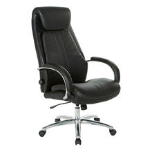 View Product - Deluxe Executive Leather Chair