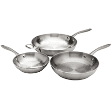 Frigidaire ReadyCook™ 3 Piece Fry Pan Set