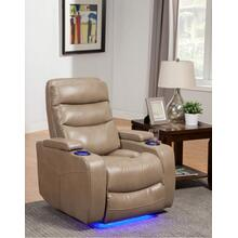 Tan Genisis Power Theater Recliner