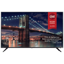 """See Details - TCL 65"""" Class 6-Series 4K UHD Dolby Vision HDR Roku Smart TV - 65R615"""