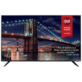 "TCL 65"" Class 6-Series 4K UHD Dolby Vision HDR Roku Smart TV - 65R615"