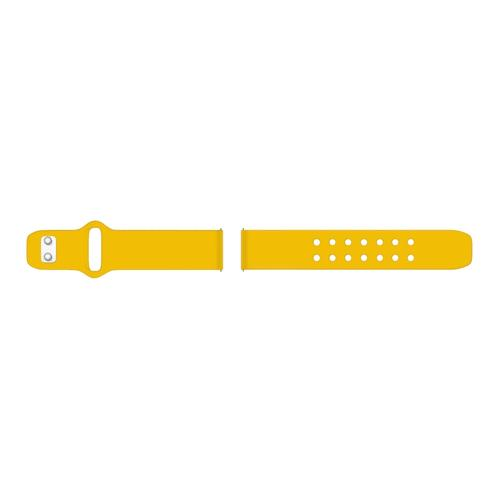 Quick Change Silicone Sport Watch Band (20mm) Yellow