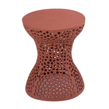 View Product - Rollo Apricot Textured Side Table
