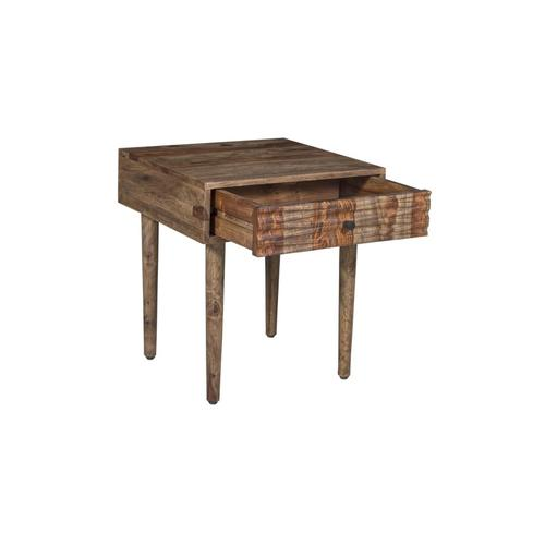 Porter International Designs - COMING SOON, PRE-ORDER NOW! Waves Harvest End Table, VAC-W007H