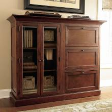 Guilford Medium Cherry Double Storage Cabinet