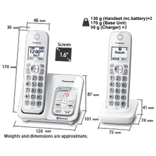 KX-TGD593 Cordless Phones