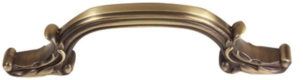 Ornate Pull A3650-6 - Antique English Matte
