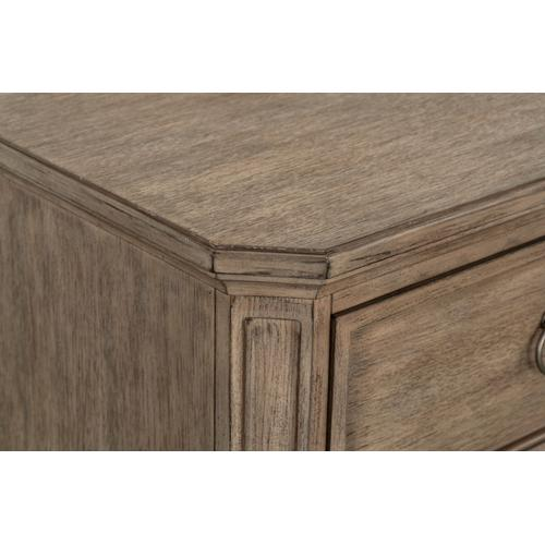Tuscany 2-Drawer Nightstand, Brown