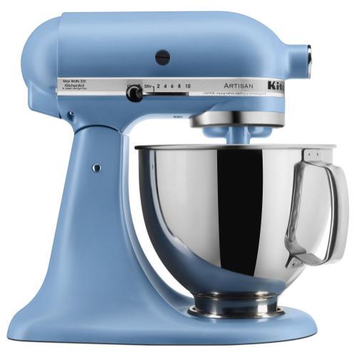 KitchenAid - Artisan® Series 5 Quart Tilt-Head Stand Mixer - Blue Velvet