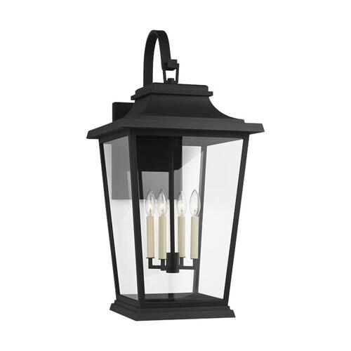 Warren Extra Large Lantern Textured Black