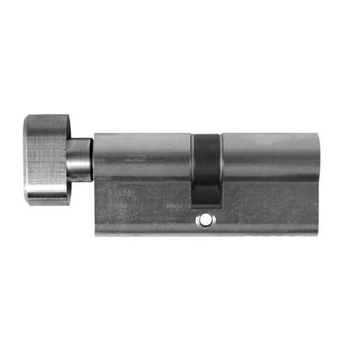 Designer Doorware - Key/Snib Euro. Profile Cylinder 70mm, Black Chrome