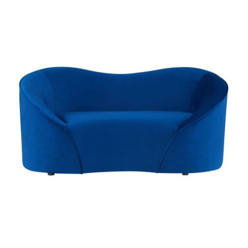 Tov Furniture - Poodle Navy Pet Bed